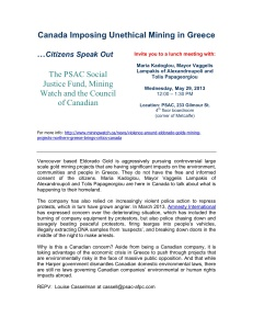 Greek citizens speak out