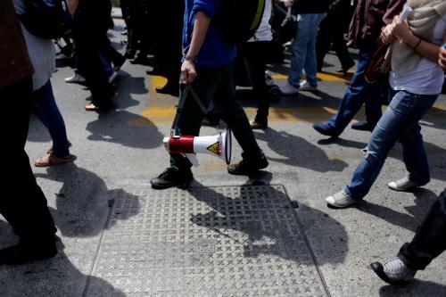 θεσσαλονίκη  Σκουριές  Μεταλλεία  συλληφθέντες  πορεία  διαμαρτυρία  χαλκιδική  ιερισσός  εξόρυξη  thessaloniki protest gold mines mining arrested people arrests ierissos cha